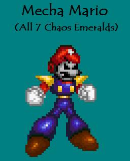 7 Chaos Mecha Mario by Mareeo64