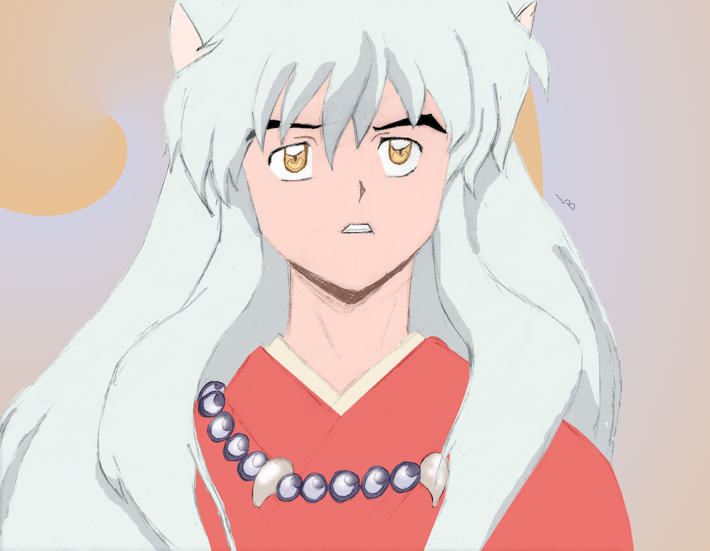 Inu-Yasha for Astral-Chan by TheAwkwardSilence