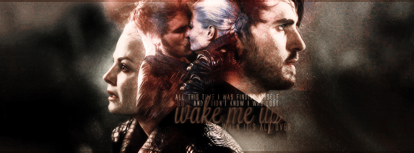 Captain Swan - ... Once Upon A Time Wallpaper Captain Swan