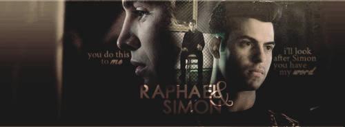 Simon and Raphael - Shadowhunters