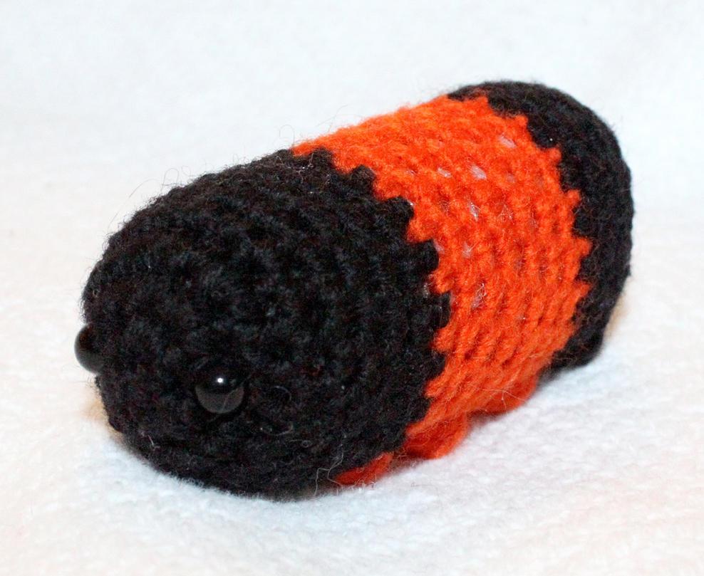 Amigurumi Caterpillar : Woolly bear caterpillar amigurumi by theseaknight on deviantart