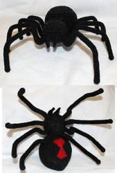 Black Widow Amigurumi by TheSeaKnight