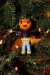 Jack-O-Lantern Scarecrow by TheSeaKnight