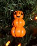 Halloween Tree Jack-O-Lantern Pumpkin Stack by TheSeaKnight