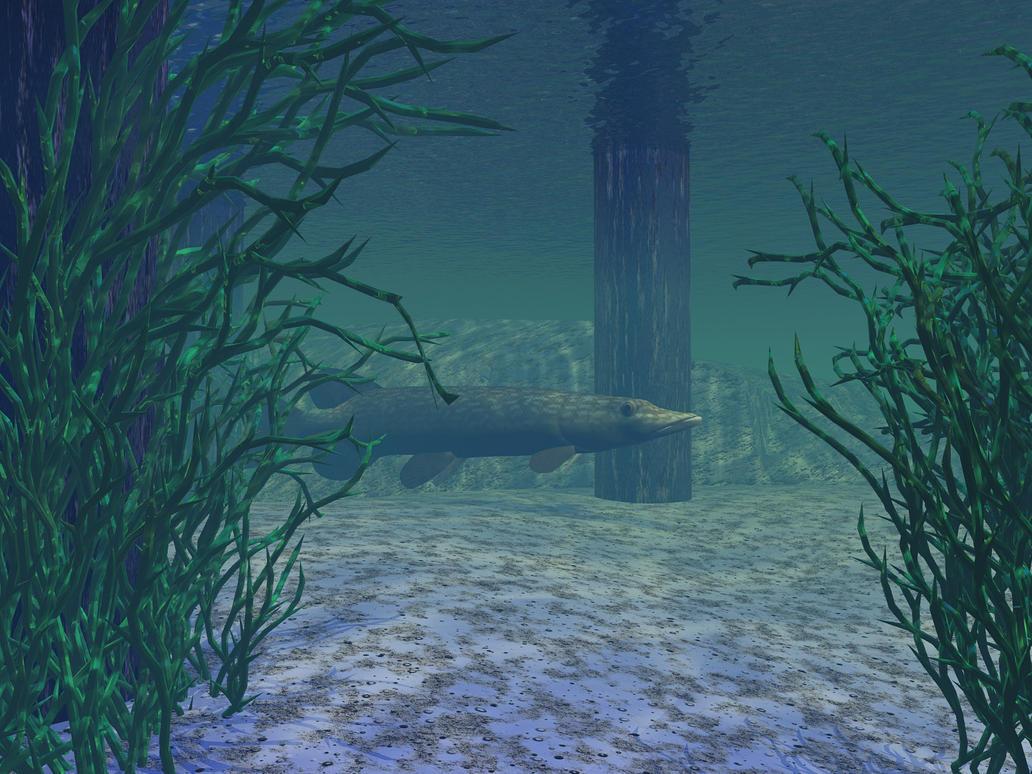Deeper Under The Ole Dock by someole3d