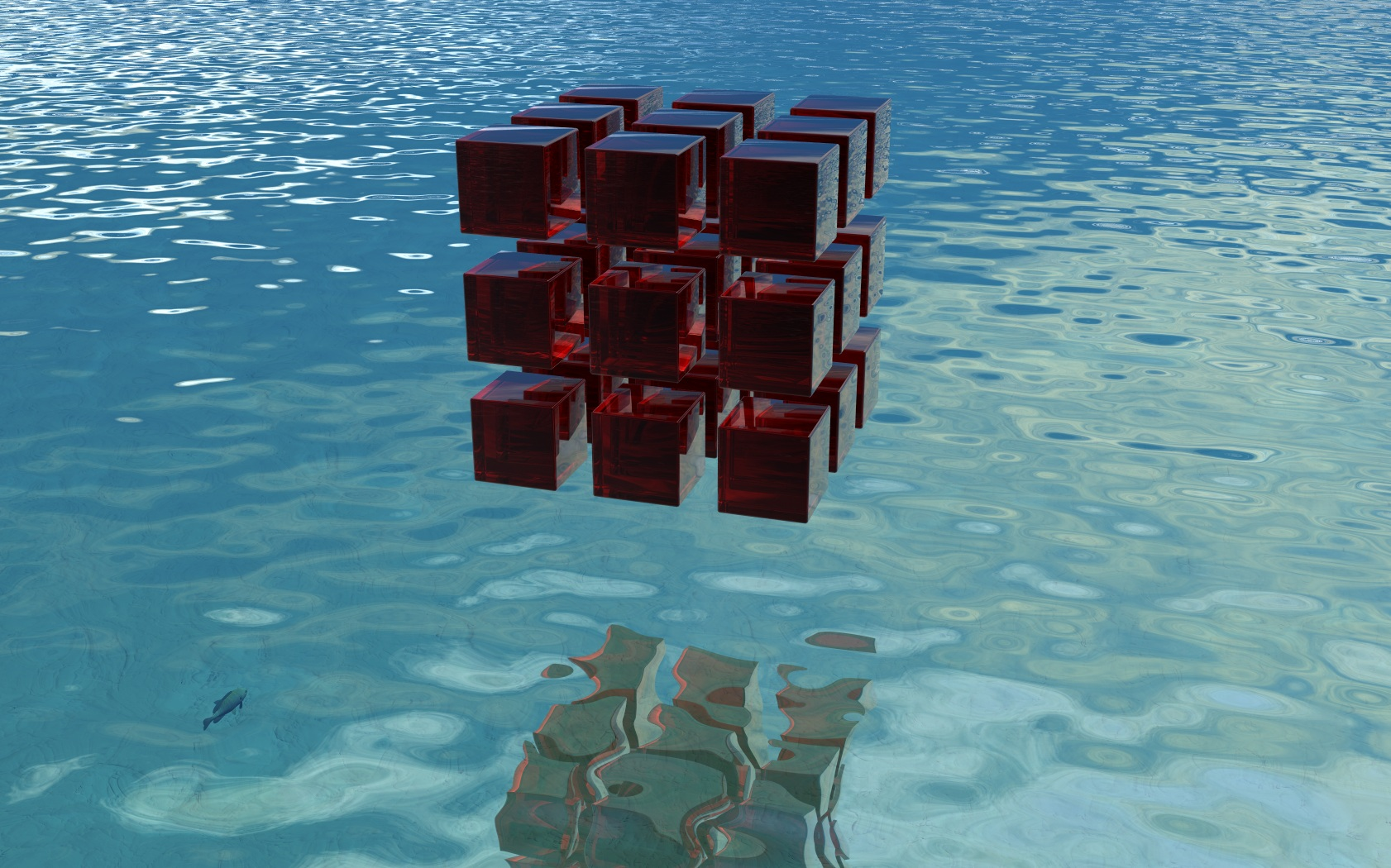 Ruby Cubes by someole3d