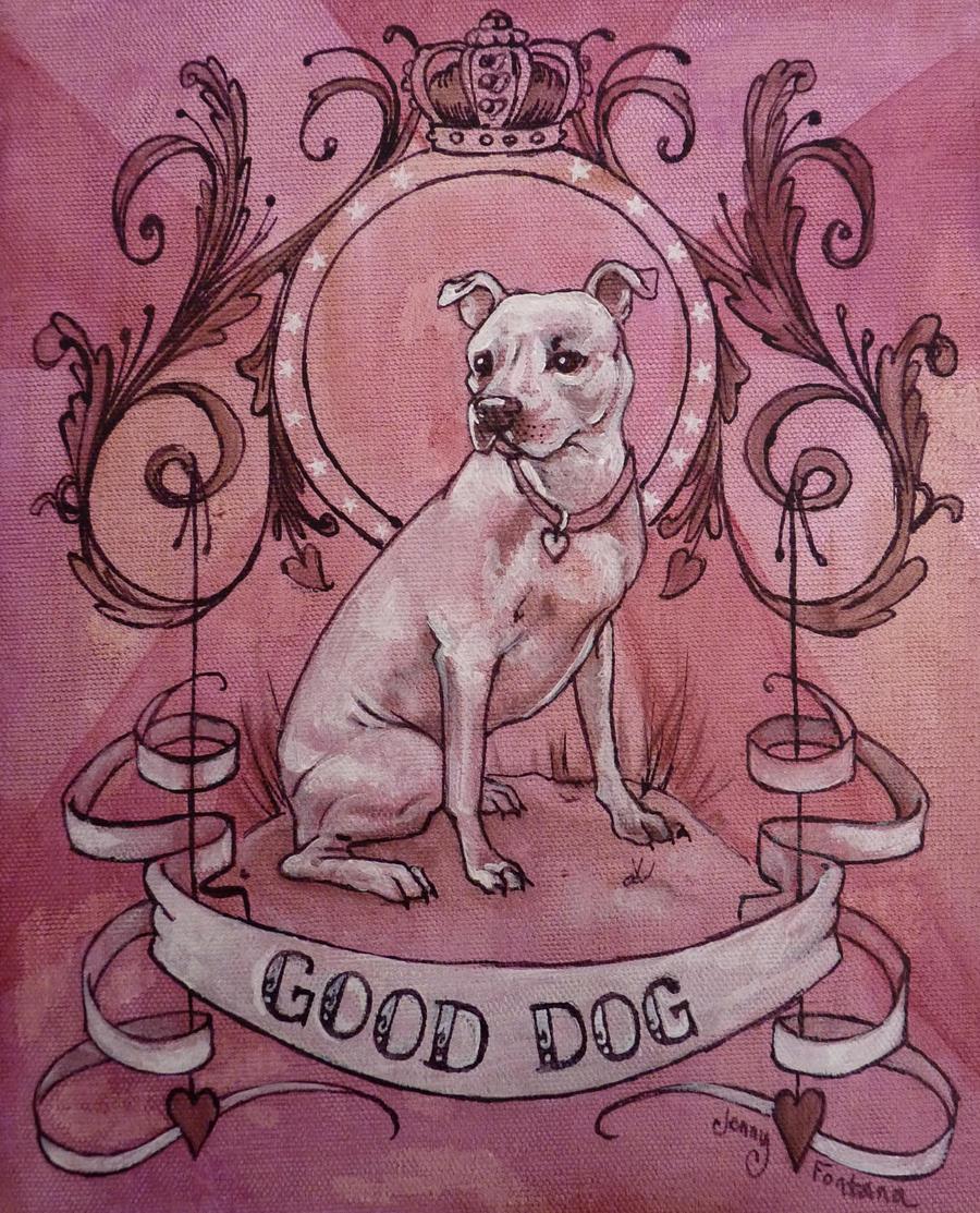Good Dog by AlizarinJen