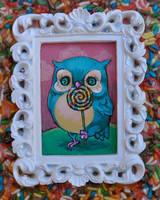 Owlie Sweet by AlizarinJen