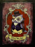Baron Von Hoot by AlizarinJen