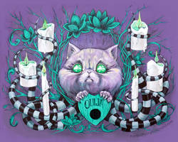 A Seance With Madame Meow-Meow, Gifted Medium by AlizarinJen