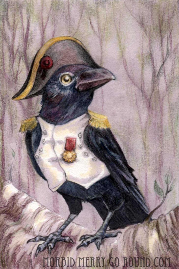 Na-CROW-leon Birdaparte by AlizarinJen