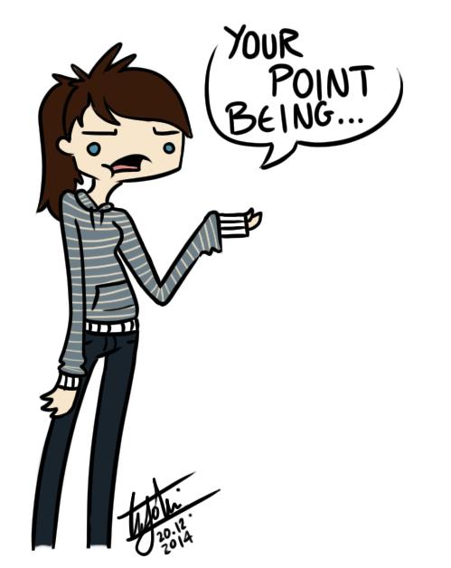 The Point? by Poppyshadow