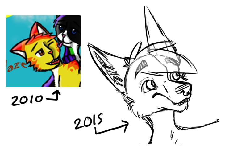 2010 vs 2015 by Poppyshadow