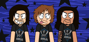Shield with new shirts
