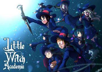 Little Witch Academia by AkihisaTaka