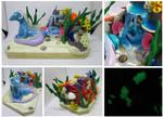 Oceanic Dragons by keykaye