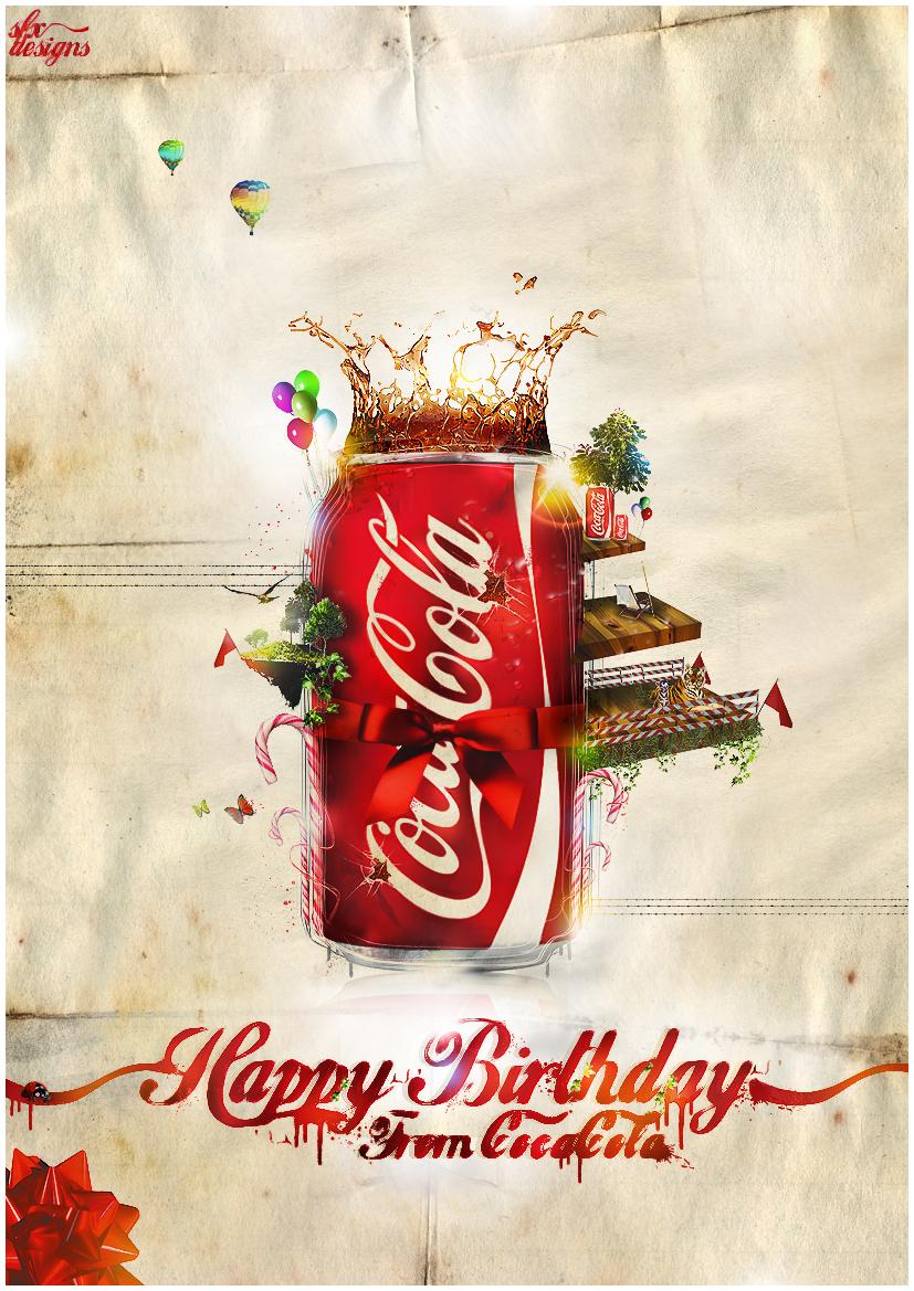 Coca Cola by Robin-2k7