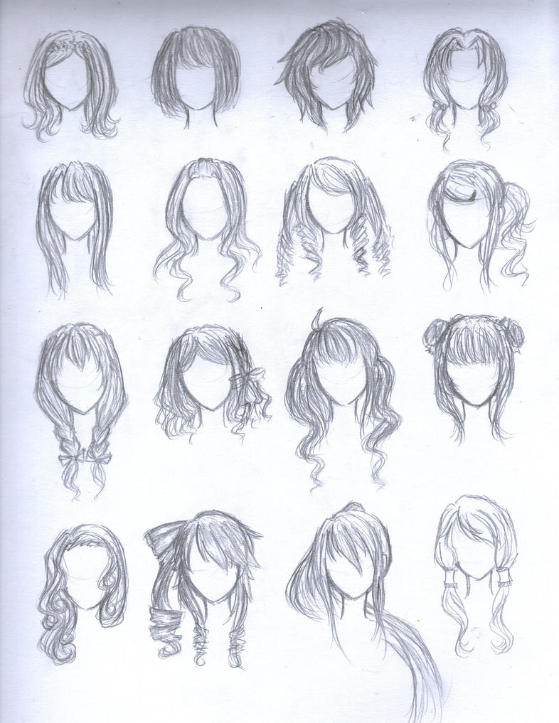 Excellent Anime Female Hairstyles 9899 Hairstyles For Men Maxibearus