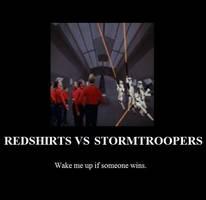 Redshirts Stormtroopers Poster by FacepalmPunch