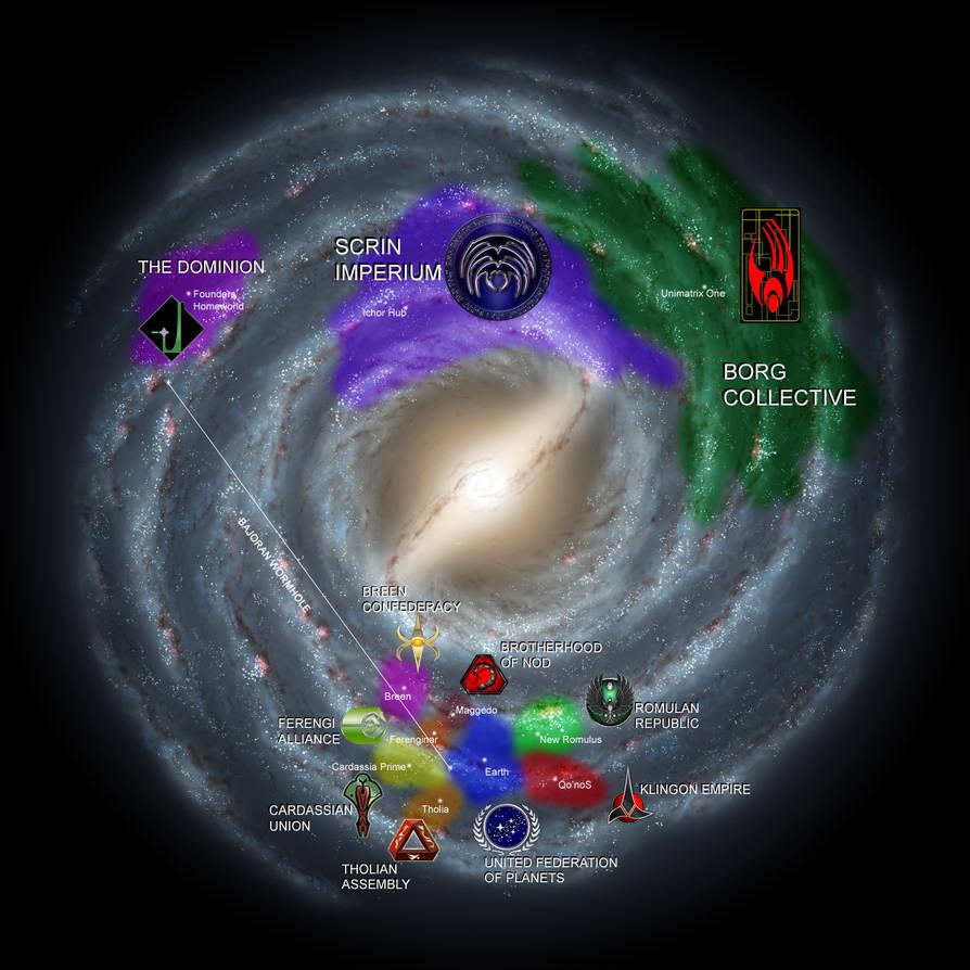 Star Trek Pulsar Map By Facepalmpunch On Deviantart