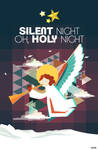 Christmas Song Art: Silent Night by caezars