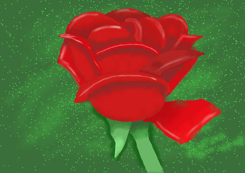 Rose Digital Painting