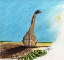 Titanosaur by palaeozoologist