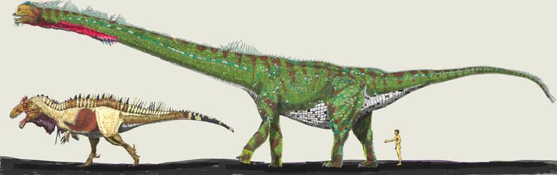 Sauroposeidon painting