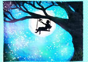 Starry Night Scene By PKD by Stevenstone7