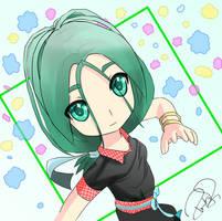 CHIBI MIRUKU [oc] by Stevenstone7