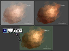 Concept Art Brushes - Digital Oil Painting