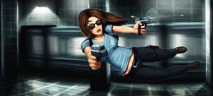 Female Max Payne