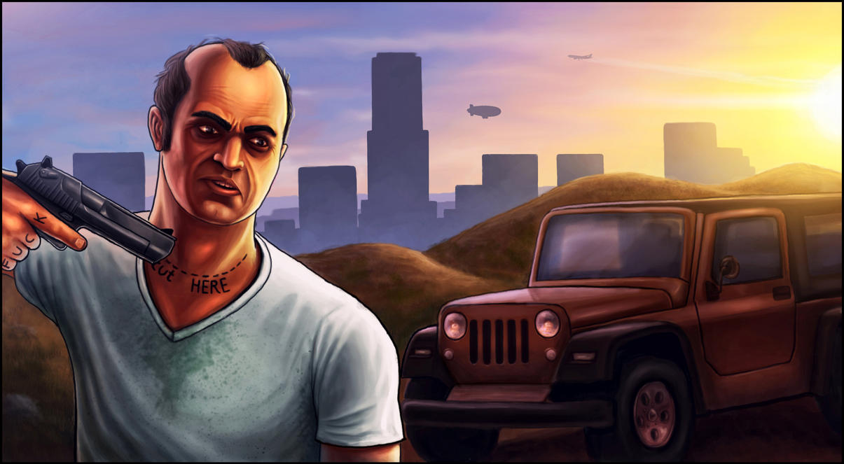 GTA5 art  by Deniszizen