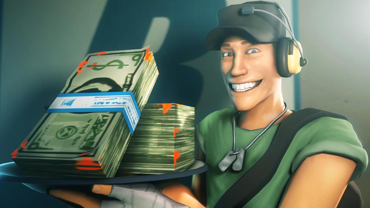 Money, money, money! by Deniszizen