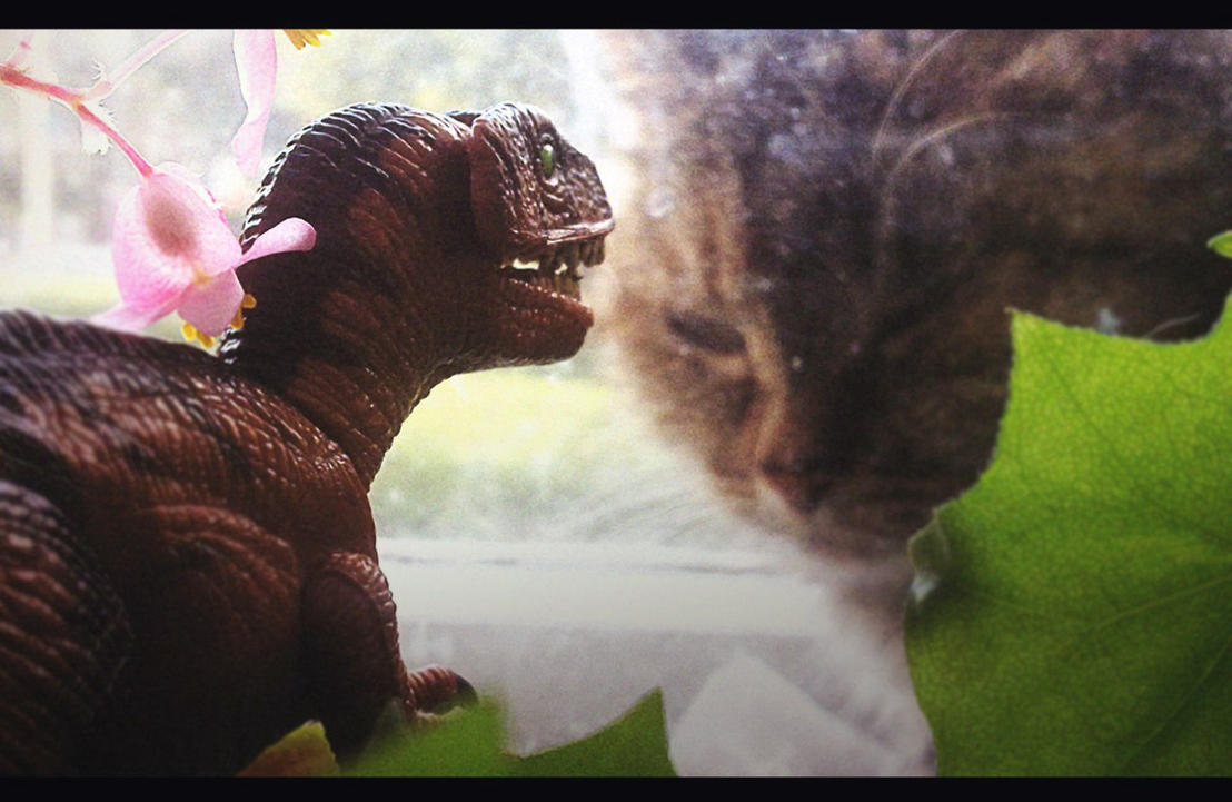 Velociraptor attack by Deniszizen