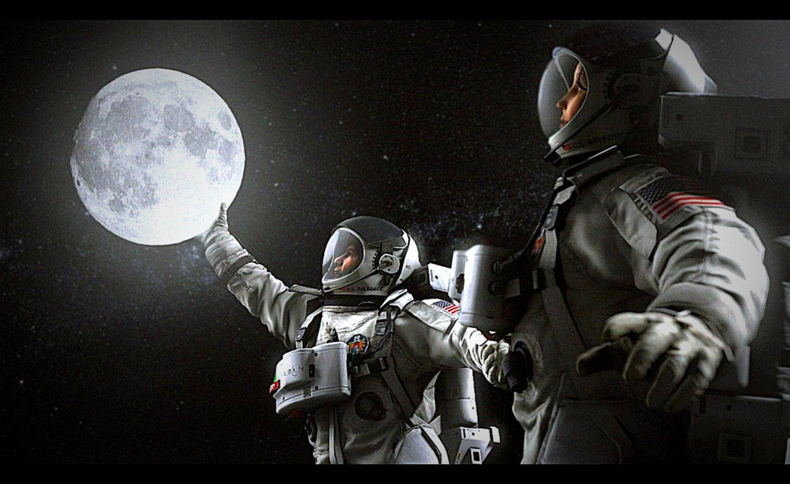 I'll give you the moon by Deniszizen