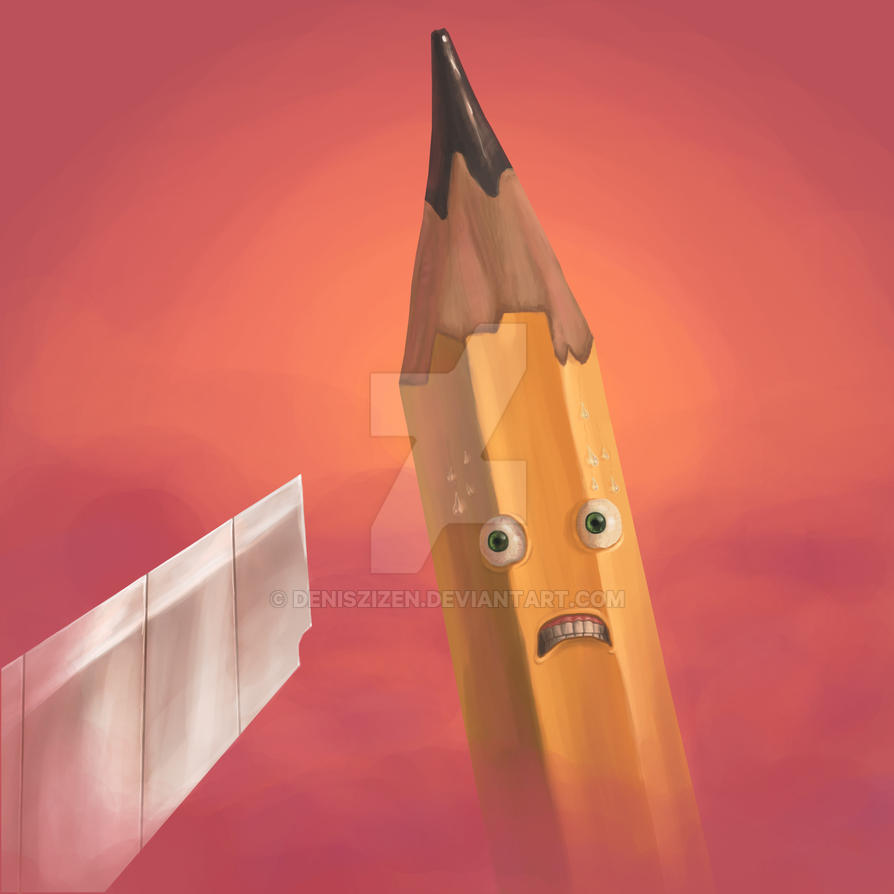 Pencil nightmare by Deniszizen