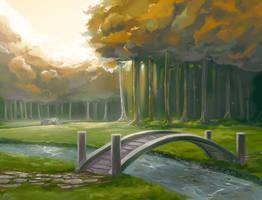 Forest by KalaSketch