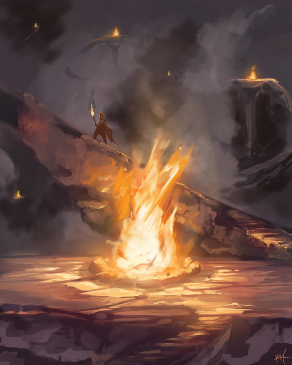 Speed Painting - Fire by KalaSketch on DeviantArt: kala-a.deviantart.com/art/speed-painting-fire-188137011