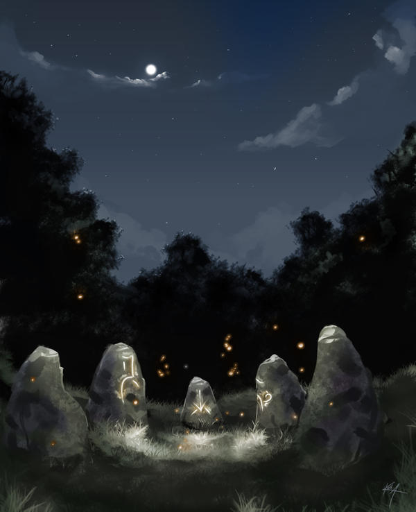 Firefly Garden by Kala-A