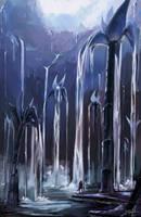 Water Lillies by KalaSketch
