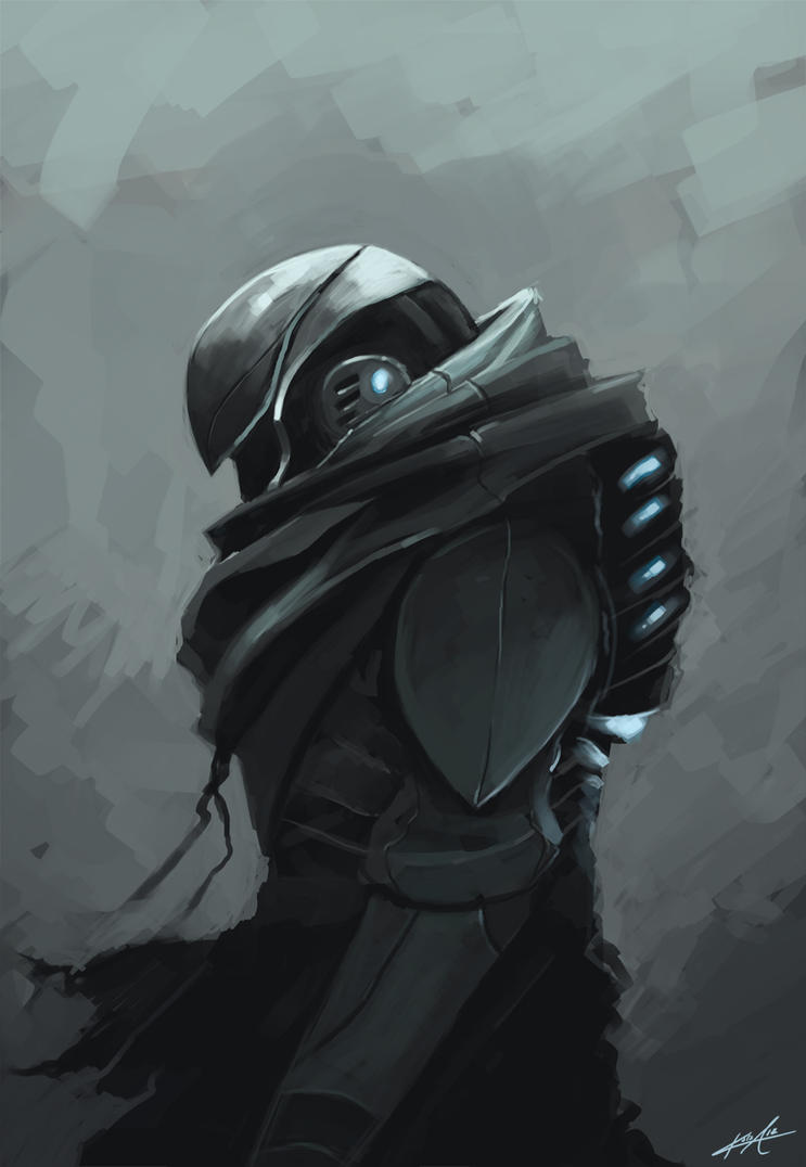 SciFi Soldier by KalaSketch
