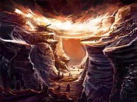 Alien Environment 3 by KalaSketch