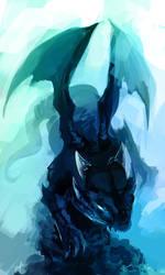 Dragony Thing by KalaSketch