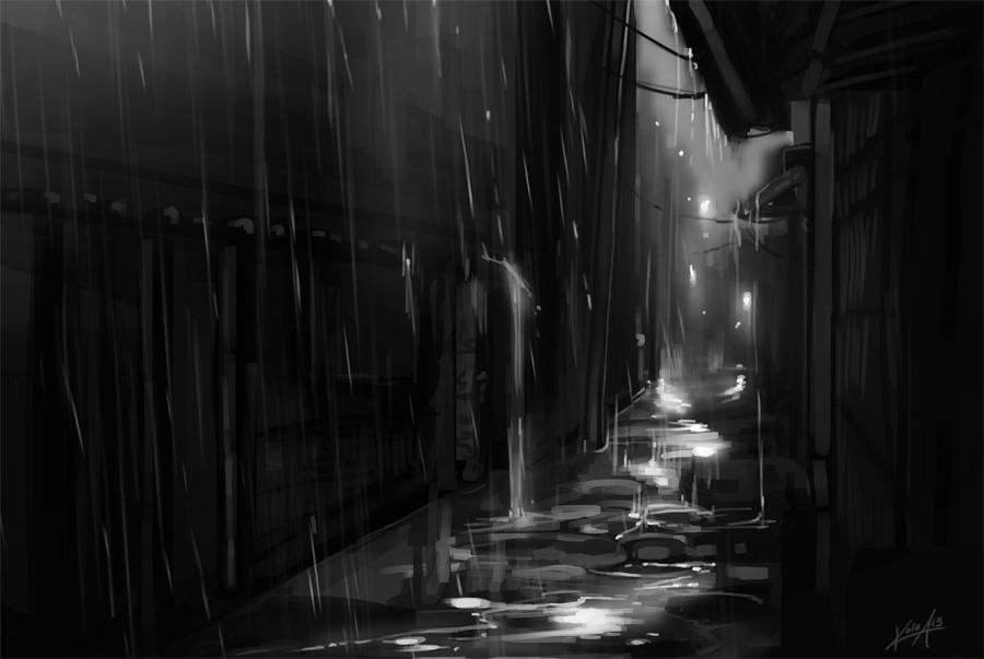 Puddles by KalaSketch