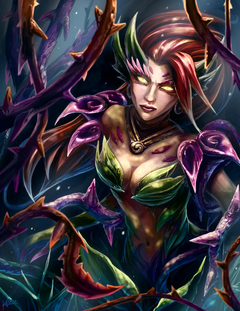 Zyra by KalaSketch