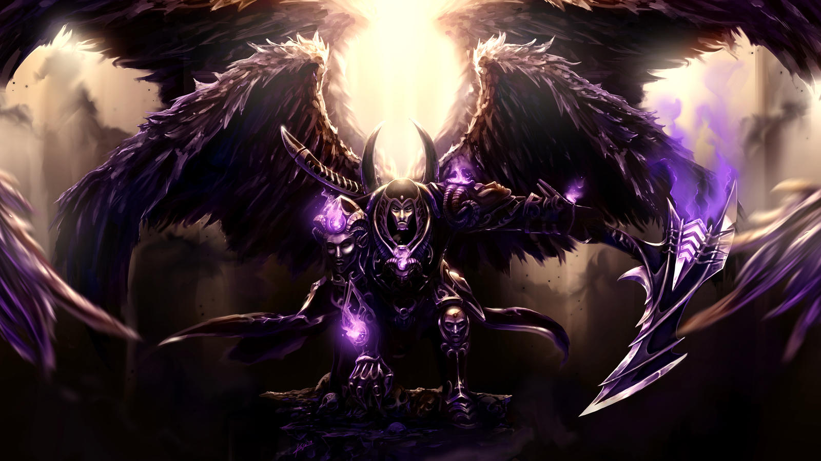 Thanatos -- Smite by Kala-A