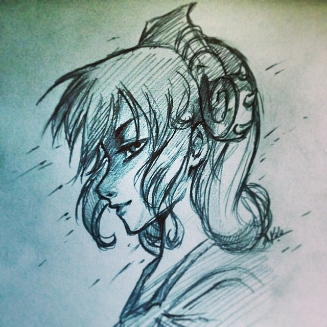 Scylla Sketch by KalaSketch