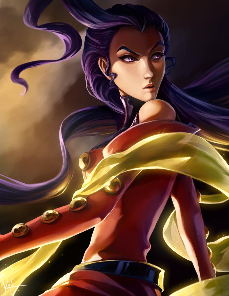 Rose - Street Fighter by KalaSketch