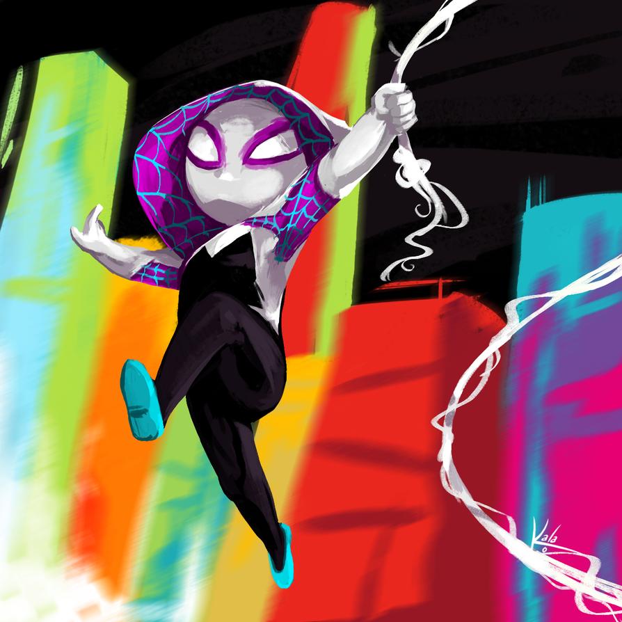 Spider Gwen by KalaSketch